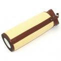 Boite panama/cuir pour Panama roulable