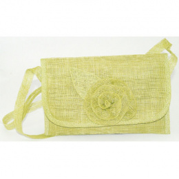 Sinamay pouch