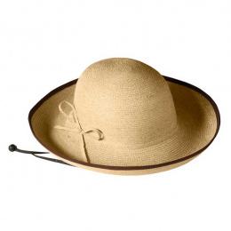 R8 raffia hat with wide brim