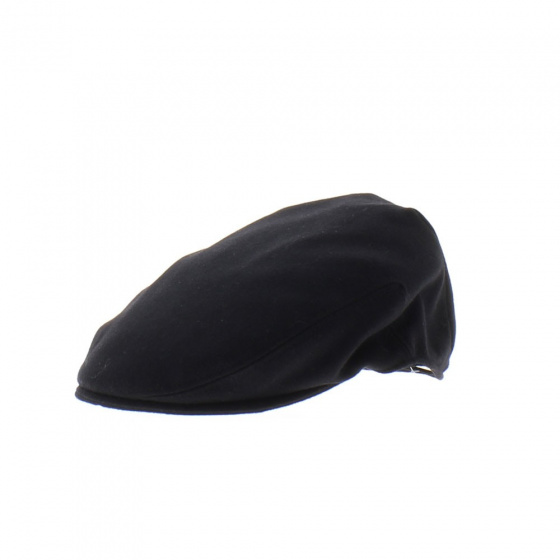 black English cap