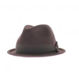 Chapeau homme Cleveland marron