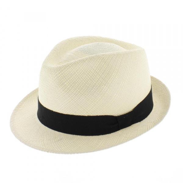 Super remise magasiner pour véritable prix le moins cher Chapeau Trilby Panama Naturel - Traclet