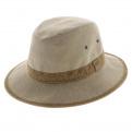 chapeau forme traveller - chapeau Safari coton 2 coloris