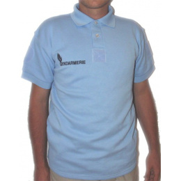 Gendarmerie Polo Shirt - long sleeve