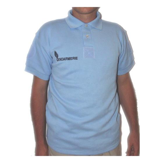 Gendarmerie Polo Shirt - long sleeve