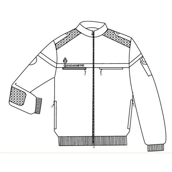 Gendarmerie Fleece Jacket