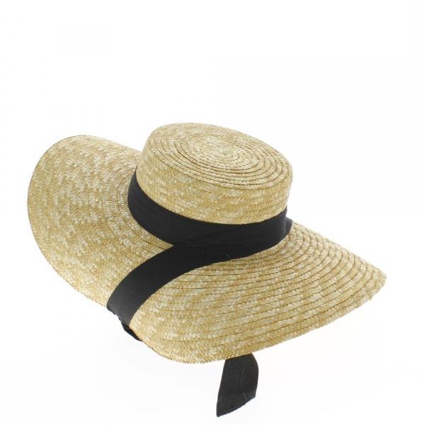 Chapeau de paille Toulousain