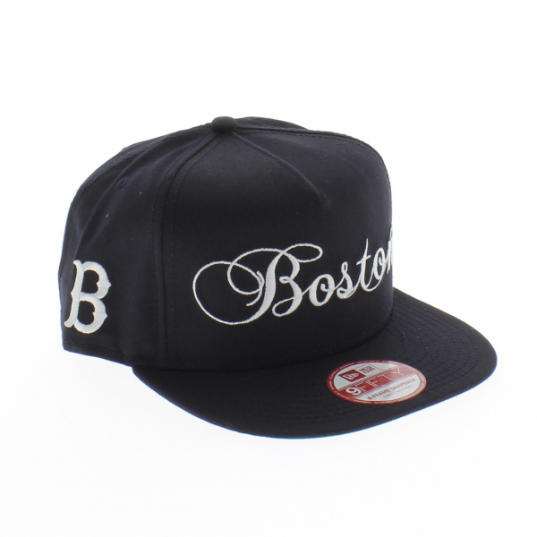 casquette new era snapback Scripter Snap Boston