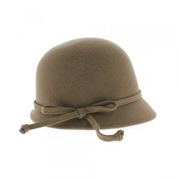 8f9b14e2f8c2f chapeau cloche beige - achat chapeau femme cloche - chapeau femme
