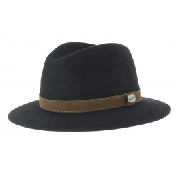 Borsalino Rain Proof hat black