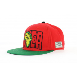Casquette Snapback C&S - Power rouge