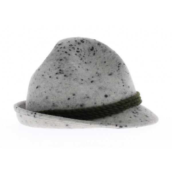 Chapeau tyrolien chiné - Chapeau Dreispitz
