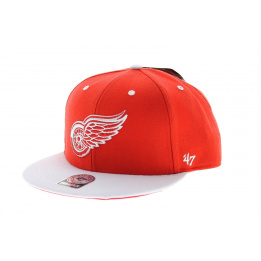 Detroit Red Wings Red & White Cap