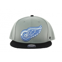 Manta Detroit  Red Wings Gris et Bleu