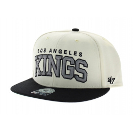 Blockshed LA Kings vintage beige noir