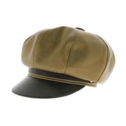 Marlon Brando Leather Gavrocher Cap