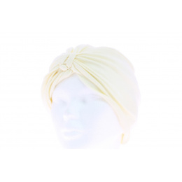 Turban chimiotherapie beige clair