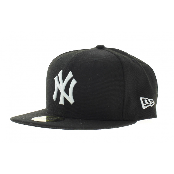 Casquette New York Yankees Black on White 59FIFTY