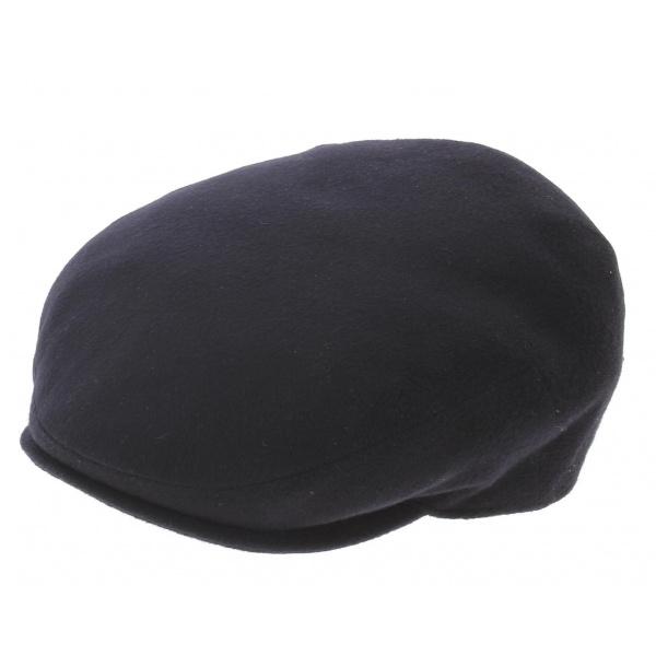 Casquette plate borsalino cashmere