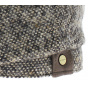 Casquette hatteras Washington tweed marron stetson