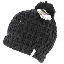 The Waffle Black Coal Cap