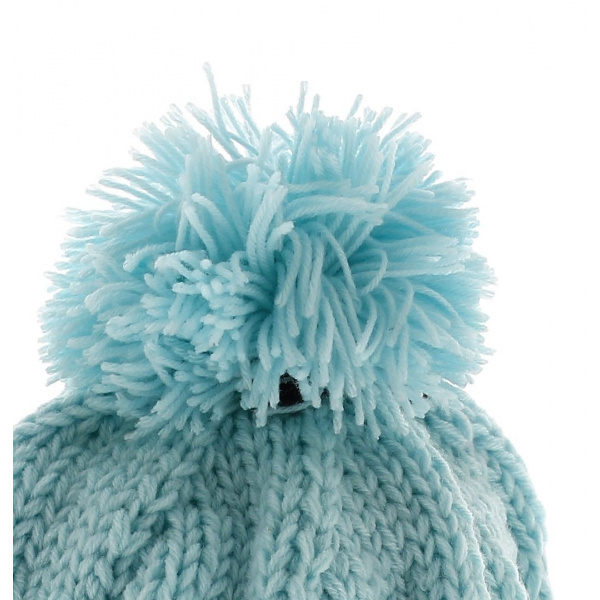Bonnet capcho saki bleu clair