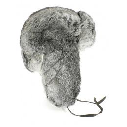 Chapka Ushanka Rabbit hair - Traclet