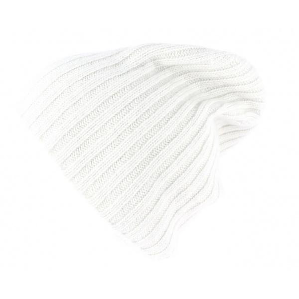 Bonnet cachemire - naturel