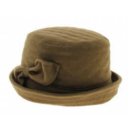 Chapeau clochard camel