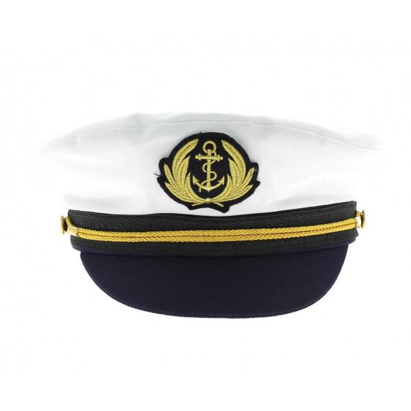 Casquette Marin Commodore Coton - Traclet