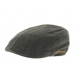 Madison Cotton Flat Cap Stetson