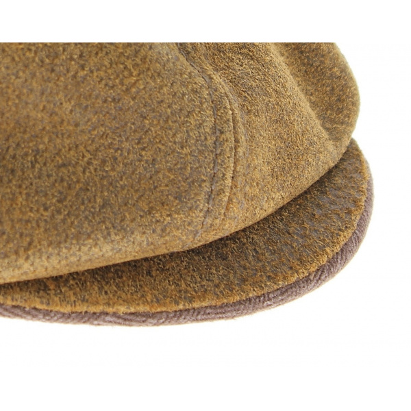Hatteras Burney leather hat cap - Stetson