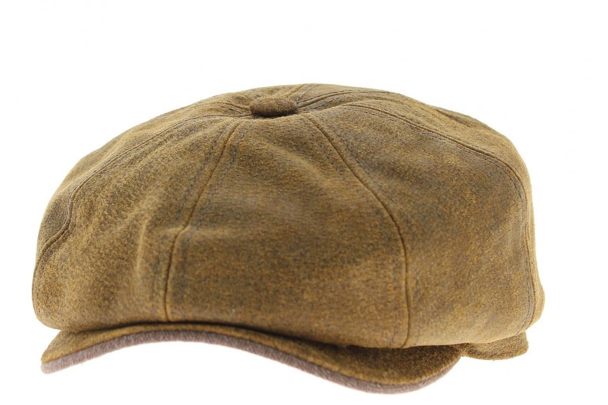 Burney Cap Leather Stetson