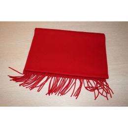 Burgundy scarf