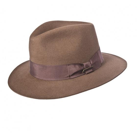 Indiana hat - Felt mocca hair