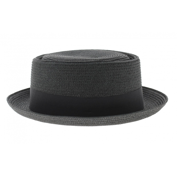 Chapeau Pork pie noir - Traclet