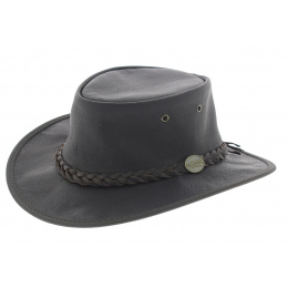 Kangaroo leather hat - Sundowner Barmah