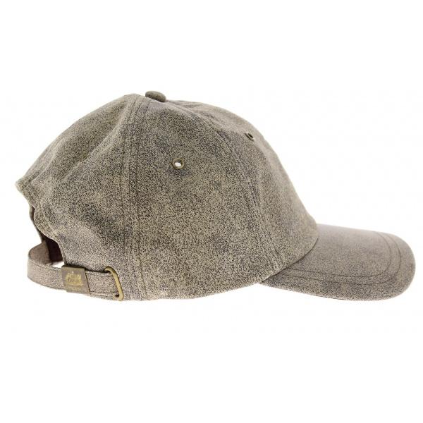 Ikpek cap Antique Stetson leather cap