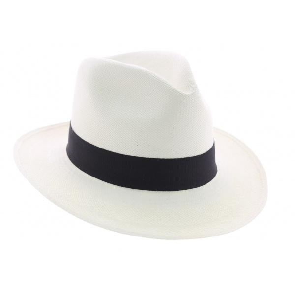 Chapeau Panama blanchi