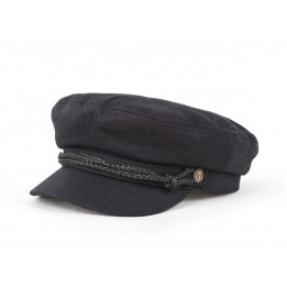 Fiddler Brixton Black Marine Cap