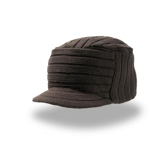 Bonnet casquette Tribe marron