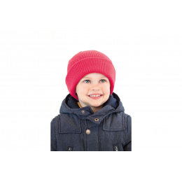 Bonnet  Wind Rouge Enfant- Atlantis