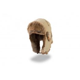 Chapka fourrure - Lapeer beige
