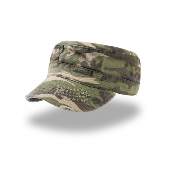 casquette urban camouflage destroyed