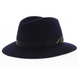 Borsalino Foldable felt hat