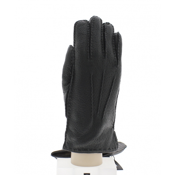 Pécari leather gloves lined with Roeckl wool