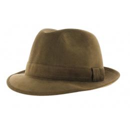 Trilby hat - Alcantara noisette