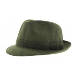 Chapeau Trilby - Alcantara vert