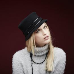 Chapeau Jonie noir Femme - Laulhère