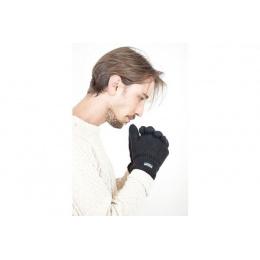 Grey thinsulate glove